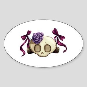 Girl Skull Sticker