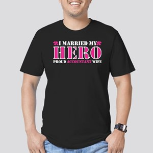 I Married My Hero Proud Accountant Wife T-Shirt