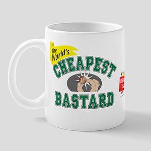 World's Cheapest Bastard Mug