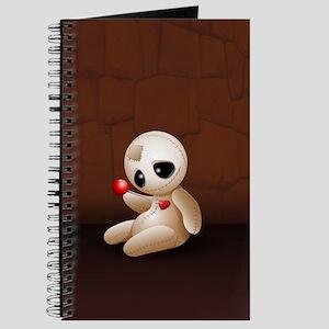 Voodoo Doll Cartoon in Love Journal
