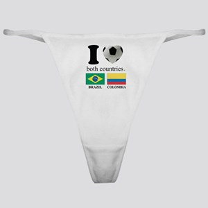 BRAZIL-COLOMBIA Classic Thong