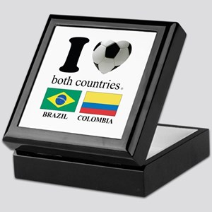 BRAZIL-COLOMBIA Keepsake Box