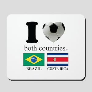 BRAZIL-COSTA RICA Mousepad