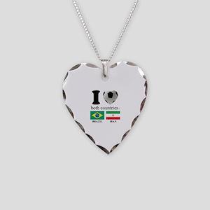 BRAZIL-IRAN Necklace Heart Charm