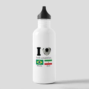 BRAZIL-IRAN Stainless Water Bottle 1.0L