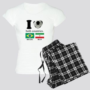 BRAZIL-IRAN Women's Light Pajamas
