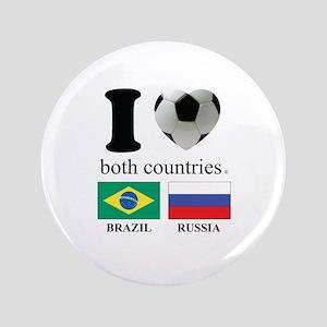 """BRAZIL-RUSSIA 3.5"""" Button"""