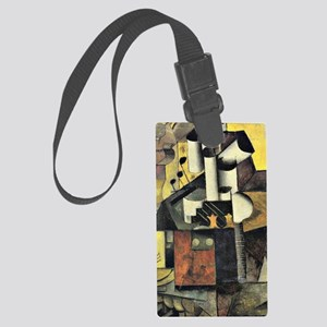 Kazimir Malevich - Musical Instr Large Luggage Tag
