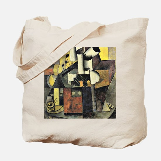 Kazimir Malevich - Musical Instrument abs Tote Bag