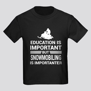 Education Important But Snowmobiling Impor T-Shirt
