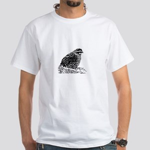 Bobwhite Quail (line art) T-Shirt