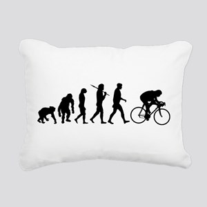 Cycling Evolution Rectangular Canvas Pillow