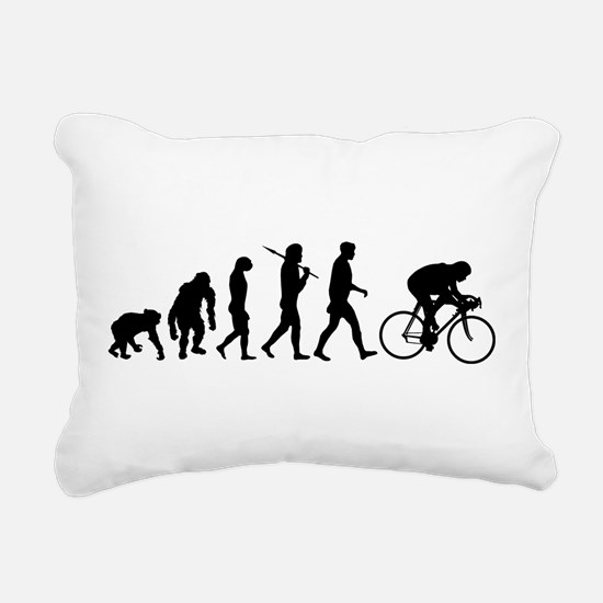 Cycling Evolution Rectangular Canvas Pillow