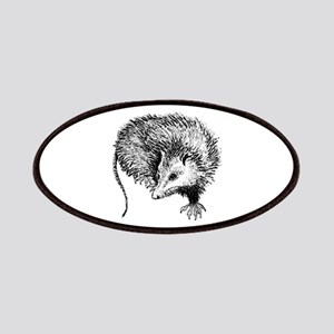 Opossum (line art) Patches