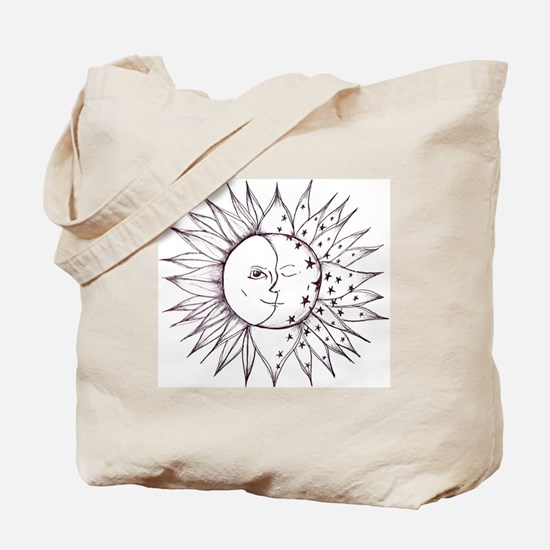 sunmoon Tote Bag