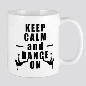 Keep Calm and Play Dancing Mugs