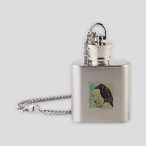 Raven Lunatic Flask Necklace