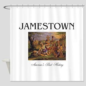 ABH Jamestown Shower Curtain
