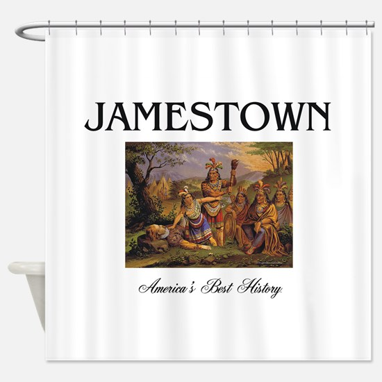 ABH Jamestown Shower Curtain