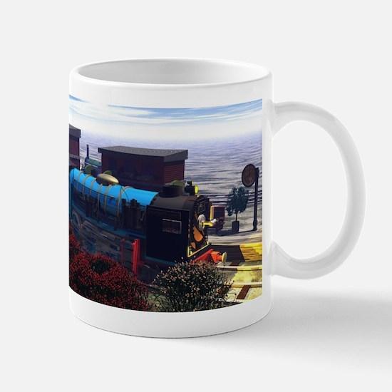 3 Railway Engines Mugs