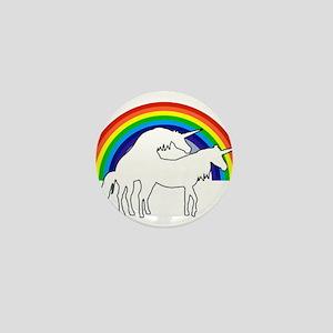 Humping Unicorns Mini Button