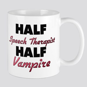 Half Speech Therapist Half Vampire Mugs