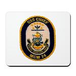 USS CHIEF Mousepad