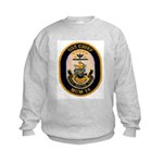 USS CHIEF Kids Sweatshirt