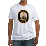 USS CHIEF Fitted T-Shirt