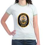 USS CHIEF Jr. Ringer T-Shirt