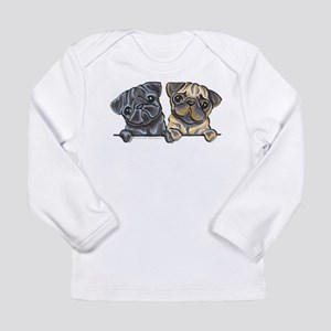Pug Pals Long Sleeve Infant T-Shirt