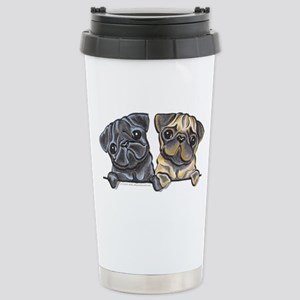 Pug Pals Stainless Steel Travel Mug
