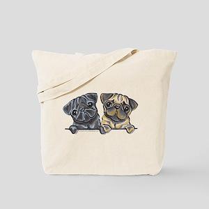 Pug Pals Tote Bag