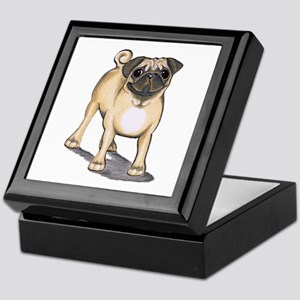 Pug Attention Keepsake Box