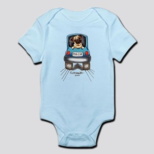 Pug Lover Car Infant Bodysuit