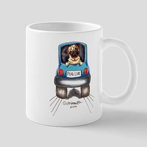 Pug Lover Car Mug