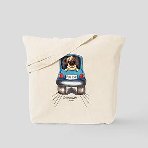 Pug Lover Car Tote Bag