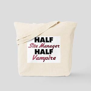 Half Site Manager Half Vampire Tote Bag