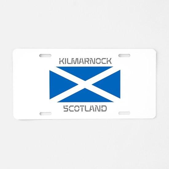 Kilmarnock Scotland Aluminum License Plate