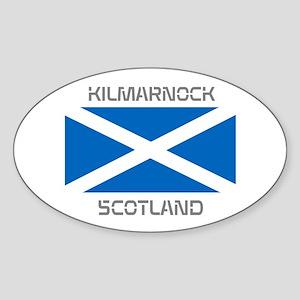 Kilmarnock Scotland Sticker (Oval)