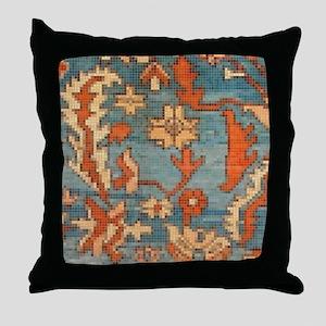 Carpet  Mosaic Design. 2  Throw Pillow