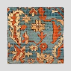 Carpet  Mosaic Design. 2  Queen Duvet