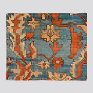Carpet  Mosaic Design. 2  Throw Blanket