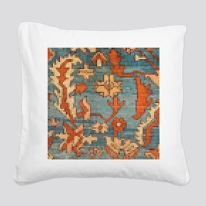 Carpet  Mosaic Design. 2  Square Canvas Pillow