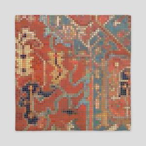 Carpet  Mosaic Design. 4 Queen Duvet