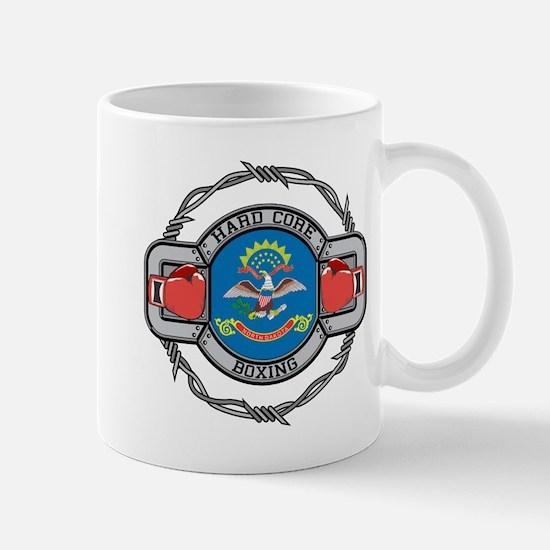 North Dakota Boxing Mug