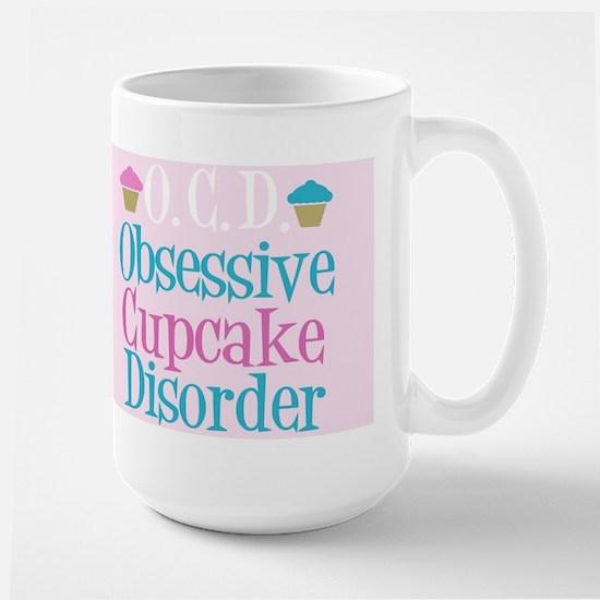 Cute Cupcake Large Mug
