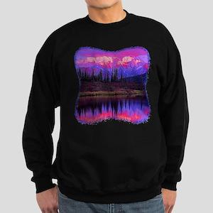 Wonder Lake at Sunset Sweatshirt (dark)