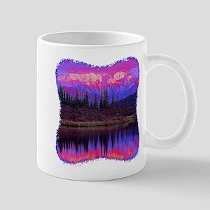 Wonder Lake at Sunset Mug