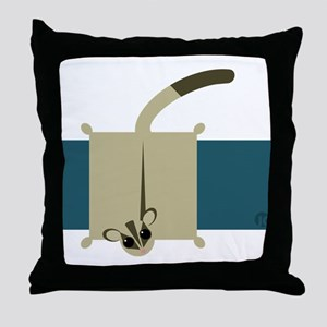 Sugar Glider Throw Pillow